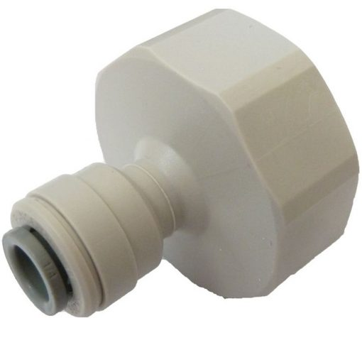"John Guest tap adapter 1/2"" to 1/4"""