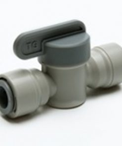 "Isolating Valve 1/4"" Tube X 1/4"" Tube"