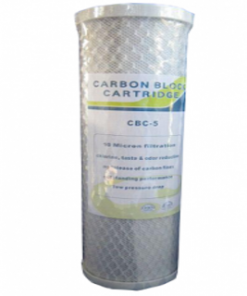 10 MICRON CARBON BLOCK FILTER CARTRIDGE