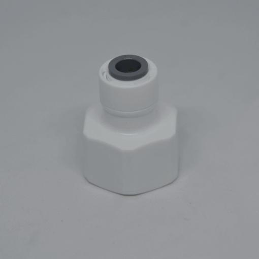 """Tap Adapter 1/4"""" tube x 1/2"""" NPT Female"""